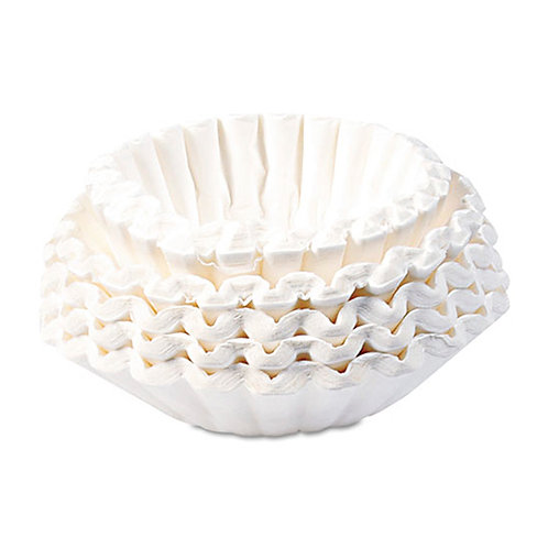 Commercial Coffee Filters, 12-Cup Side, 1,000/Carton