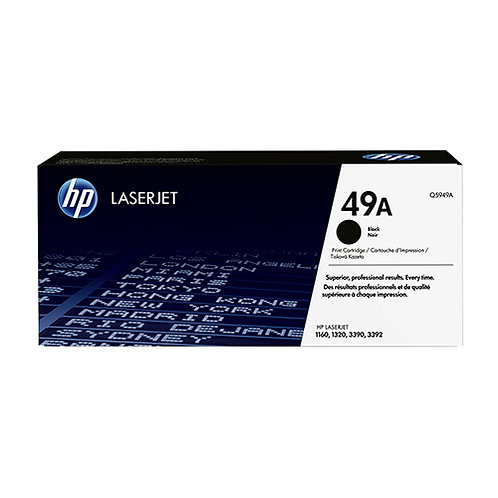 HP 49A Toner Cartridge Genuine, Black