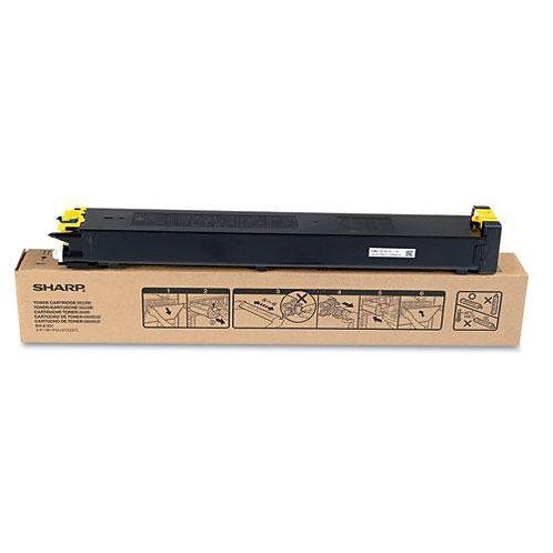 Sharp MX-27NTYA Toner Cartridge Remanufactured, Yellow