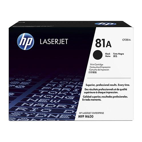 HP 81A Toner Cartridge Remanufactured, Black