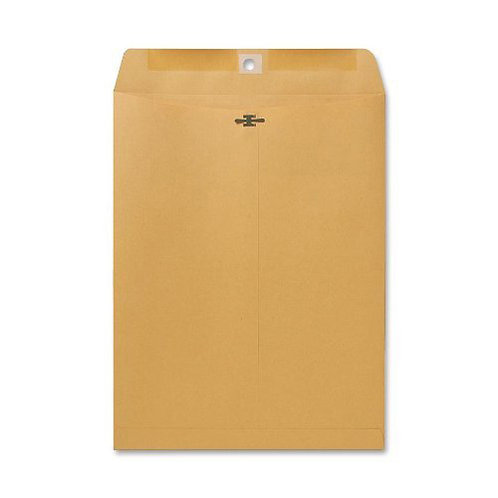Sparco Clasp Envelope, 28 lbs., 9 x 12 Inches, 100 per Box, Kraft