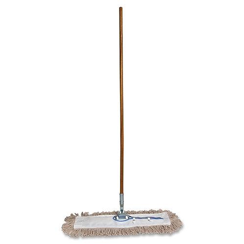 """Genuine Joe GJO54101 Lightweight Dust Mop with Handle, 24"""" Width"""