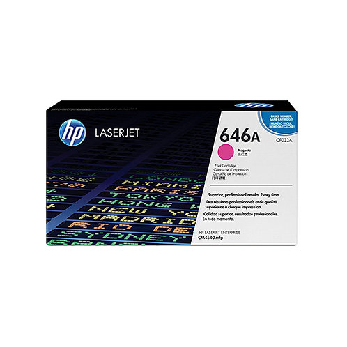 HP 646A Toner Cartridge Genuine, Magenta
