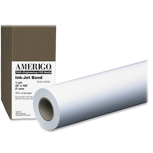 PM Company Amerigo Line 20# Bond Wide Format Ink Jet Coated Paper Roll