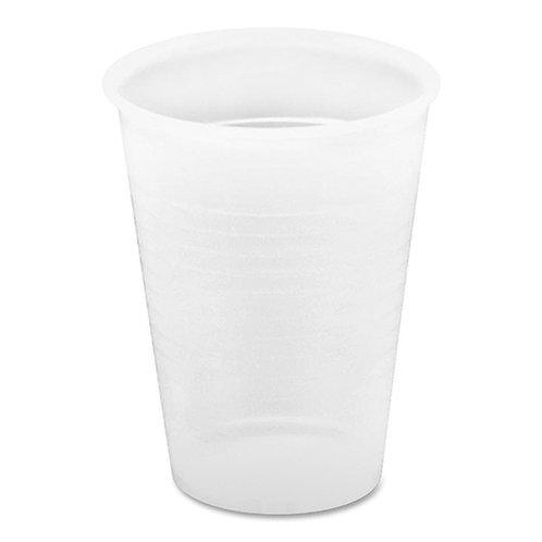 Genuine Joe Translucent Plastic Beverage Cup, 12-OZ Capacity, Clear 1000/