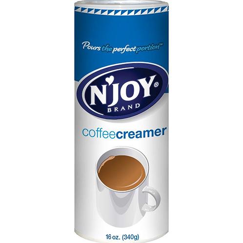 N'JOY Non-Dairy Coffee Creamer, 16 OZ