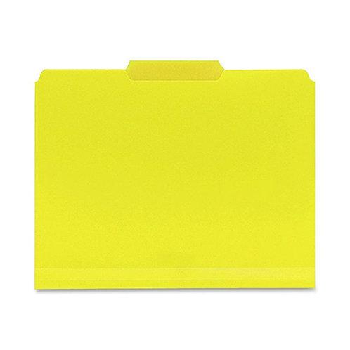 Smead Poly File Folder, 1/3-Cut- Tab Letter Size, 24 per Box