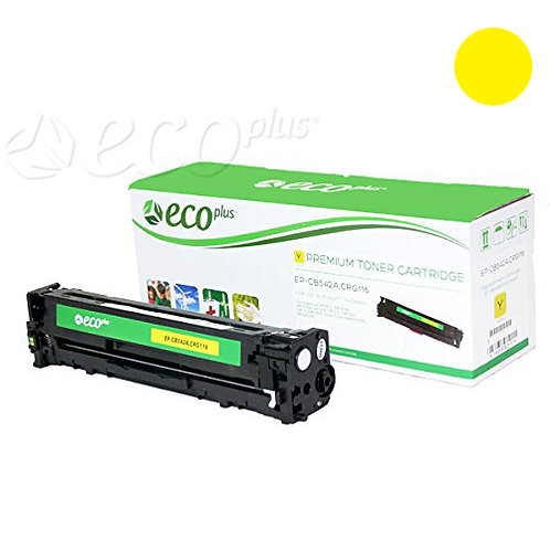 HP 125A Toner Cartridge Remanufactured, Yellow
