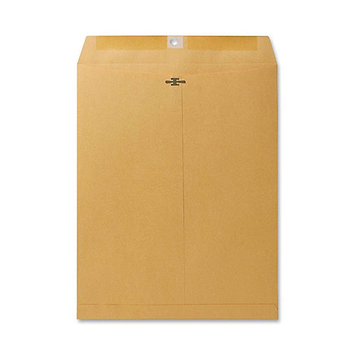 Sparco Clasp Envelope, 28lbs., 10 x 13 Inches, 100 per Box, Kraft