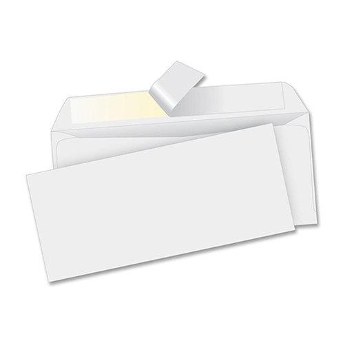 Business Envelope, Peel/Seal, Reg, Plain, #10, 4-1/2 in.x9-1/2 in, 500/BX, White