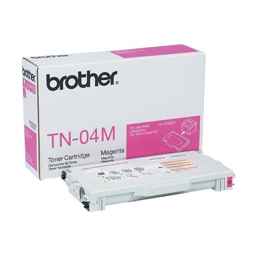 Brother TN04M Toner Cartridge Genuine, Magenta