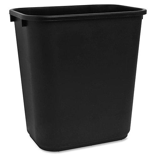 """Sparco Rectangular Wastebasket 7 gal Capacity - Rectangular - 15""""x14.5""""x10.5"""""""