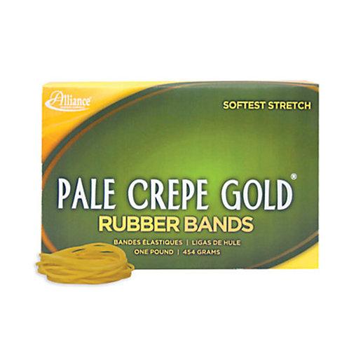 Alliance Pale Crepe Gold Rubber Band 1 lb