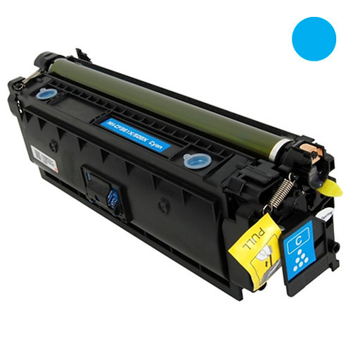 HP 508X Toner Cartridge Remanufactured, Cyan