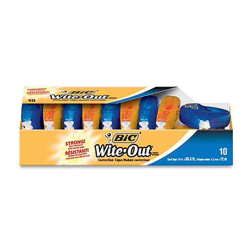 Wite-Out EZ Correct Correction Tape - 10/Pack