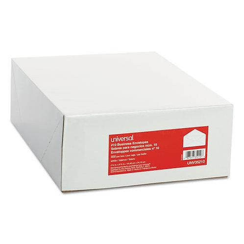 Business Envelope, V-Flap, #10, White, 500/Box