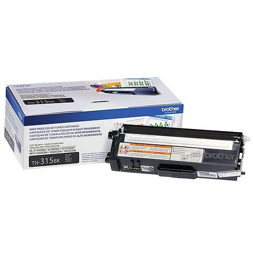 Brother TN315BK Toner Cartridge Genuine, Black