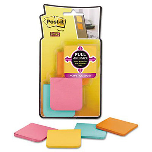 Post-it 2x2 Super Sticky Full Adhesive Notes 2