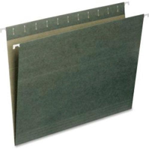 Smead Hanging File Folder, Letter Size, Standard Green, 25 per Bo