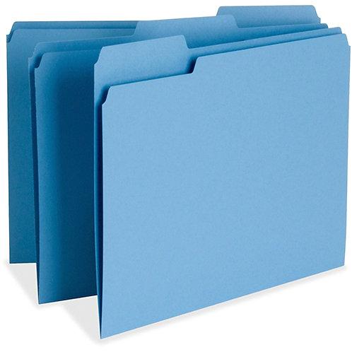 Business Source Color-coding Top Tab File Folder