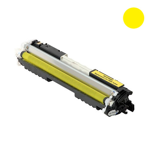 HP 130A Toner Cartridge Remanufactured, Yellow