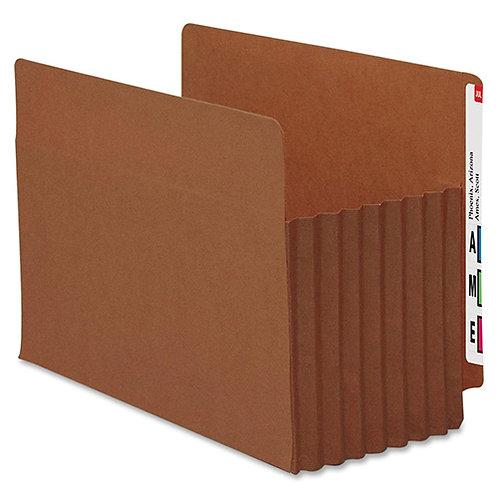 Smead 73795 Redrope Extra Wide End Tab TUFF Pocket File Pockets - Reinforced Tab