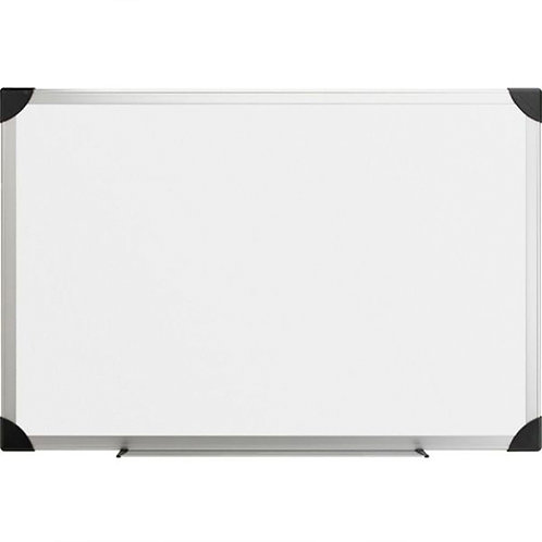 Lorell Dry-Erase Board, 4 by 3-Feet, Aluminum/White