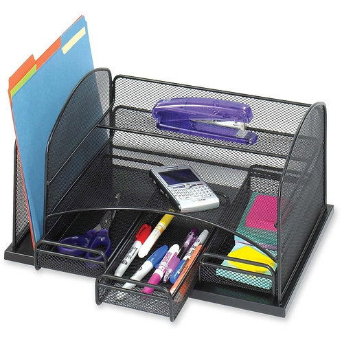 Safco 3252BL Desktop Organizer 3 Drawer(s) - 16