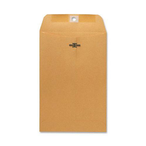 Sparco Clasp Envelope, 28 lbs, 6 x 9 Inches, 100 per Box, Kraft