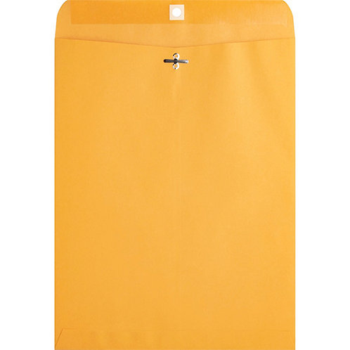 Business Source Heavy-duty Clasp Envelopes - Clasp - #97 - 100/Box