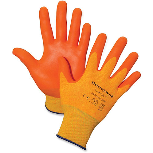 Honeywell -Medium Tuff-Glo HPPE/Poly Liner Hi-Viz, Orange - 2/Pair