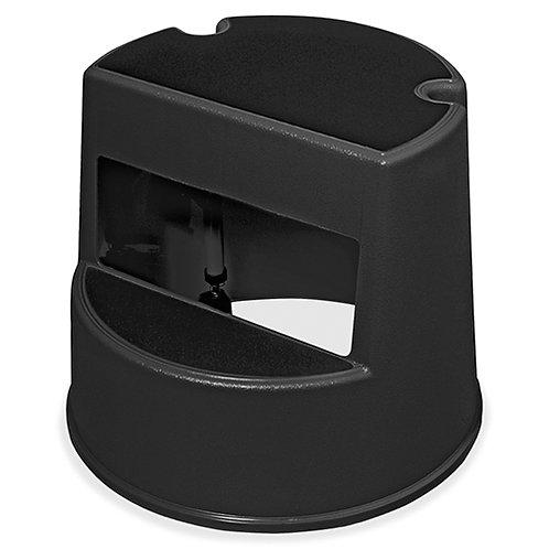 "Rubbermaid Rolling Step Stool 350 lb Load Capacity - 16"" x 16"" x 13"" - Black"