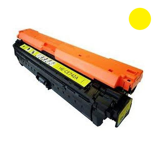 HP 307A Toner Cartridge Remanufactured, Yellow