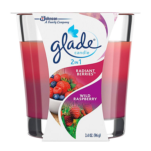 Glade 2-In-1 Scented Candles - 3.4 Oz