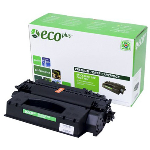 HP 55A Toner Cartridge Remanufactured, Black