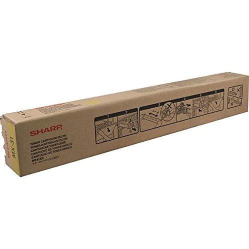 Sharp MX-31NTYA Toner Cartridge Genuine, Yellow