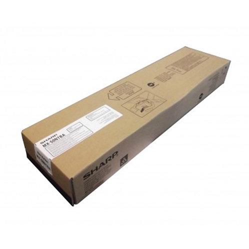 Sharp MX-50NTBA Toner Cartridge Genuine, Black