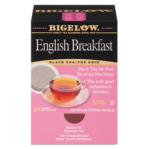 English Breakfast Tea Pods - 1.90 oz - 18/Box