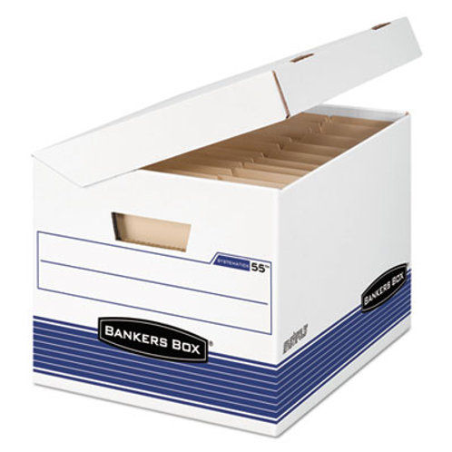 Bankers Box FastFold Flip Top File Storage Box