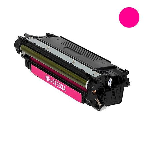 HP 654A Toner Cartridge Remanufactured, Magenta