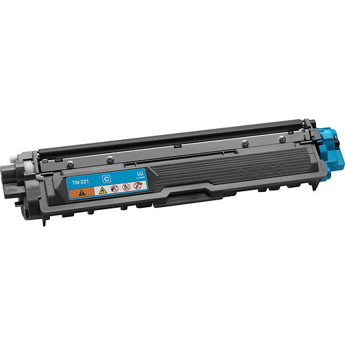 Brother TN221C Toner Cartridge Genuine, Cyan