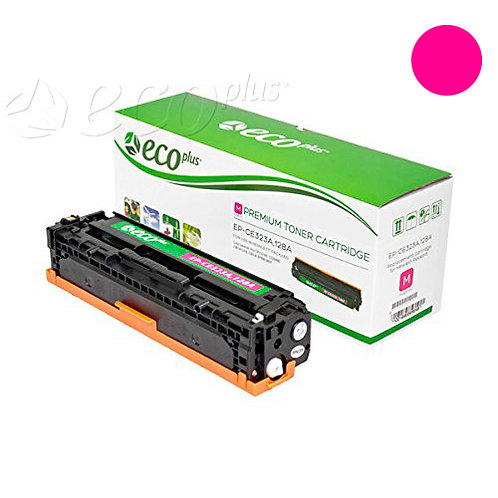 HP 128A Toner Cartridge Remanufactured, Magenta