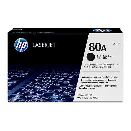 HP 80A Toner Cartridge Genuine, Black