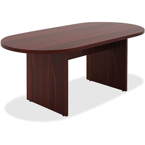 Lorell Chateau Series Mahogany 6' Oval Conference Table