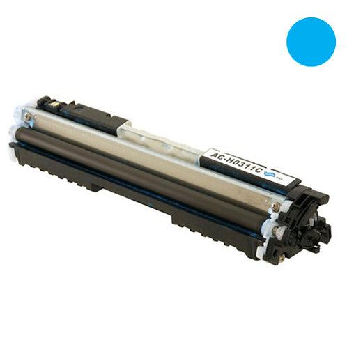 HP 126A Toner Cartridge Remanufactured, Cyan
