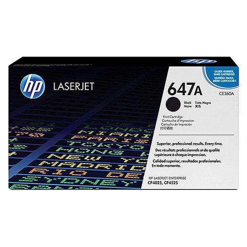 HP 647A Toner Cartridge Genuine, Black