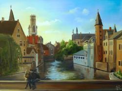City Shadows Bruges