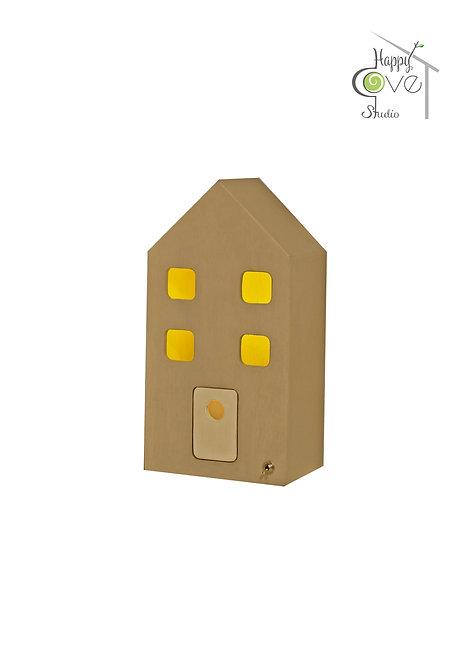 City Lights Mini | Wooden Lamp in Gray