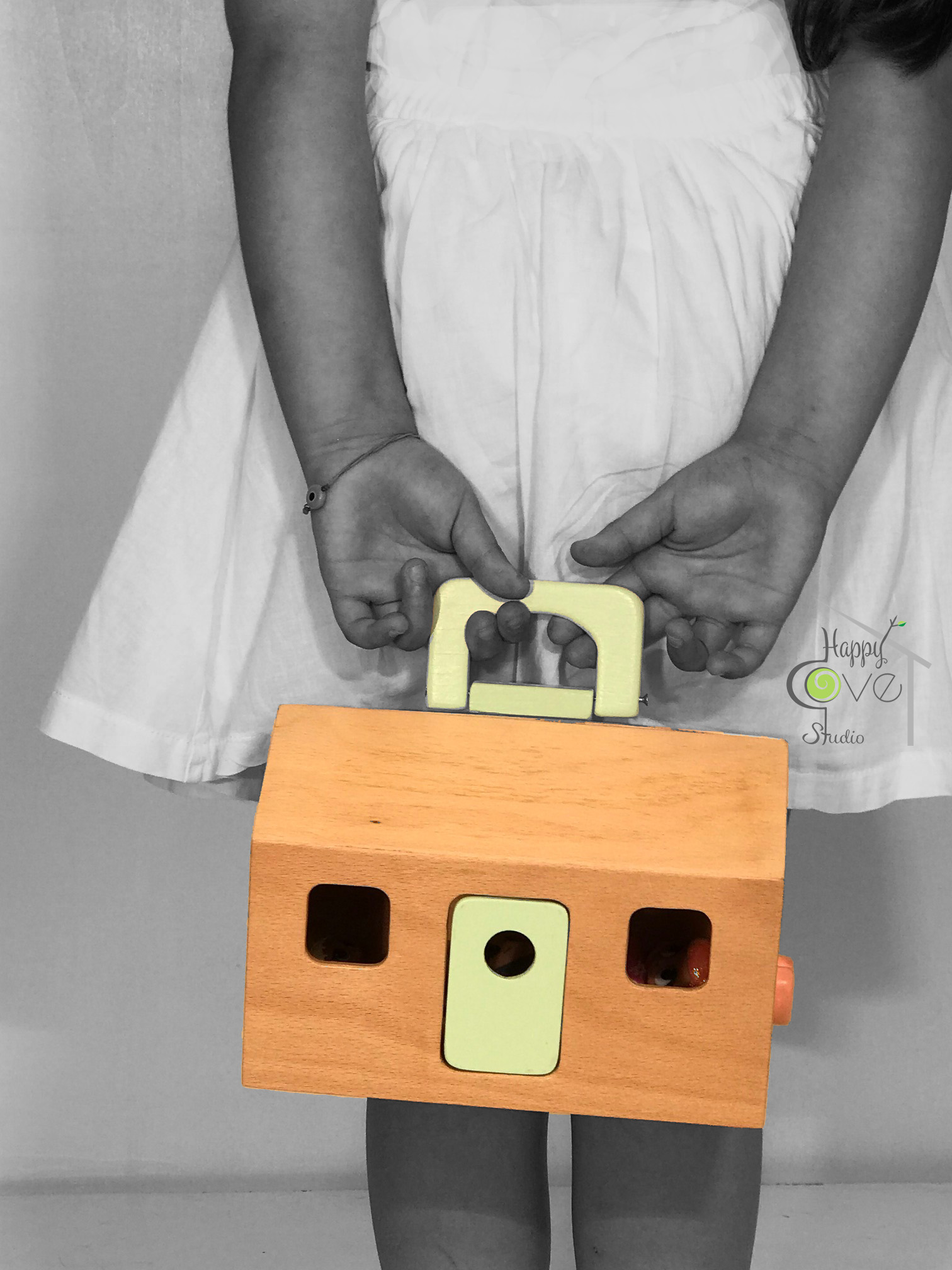 Porta-Casa | Mini Portable Doll Hous