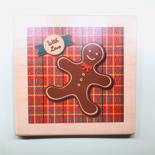 Ginger Breadman Wooden Wall Decor